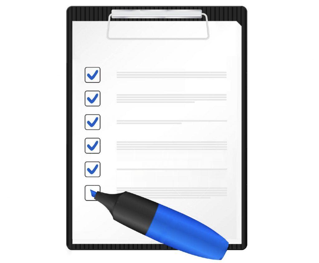 Checklist international moving relocation preparations